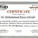 برگزاری دوره های آموزش جامع دندانپزشکی زیبایی توسط شرکت آرمان درمان پارسیان به استادی دکتر علی یزدانی اسطوره عشق و امید
