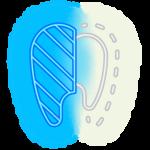 White teeth with bleaching-min